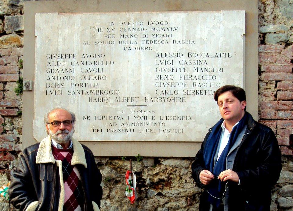 A sinistra il prof. Enzo Barnabà